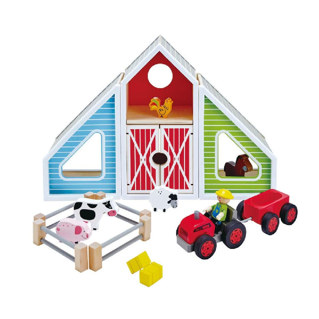 Hape Barn Play (Set of 16)