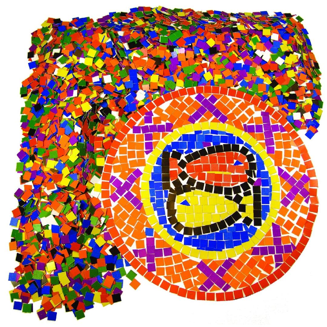 Double Colour Mosaic Squares