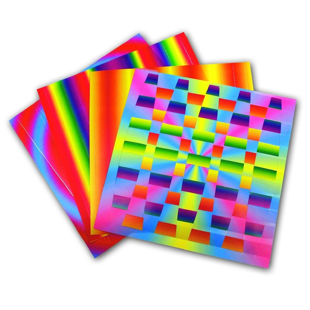 Rainbow Weaving Mats (75pcs)