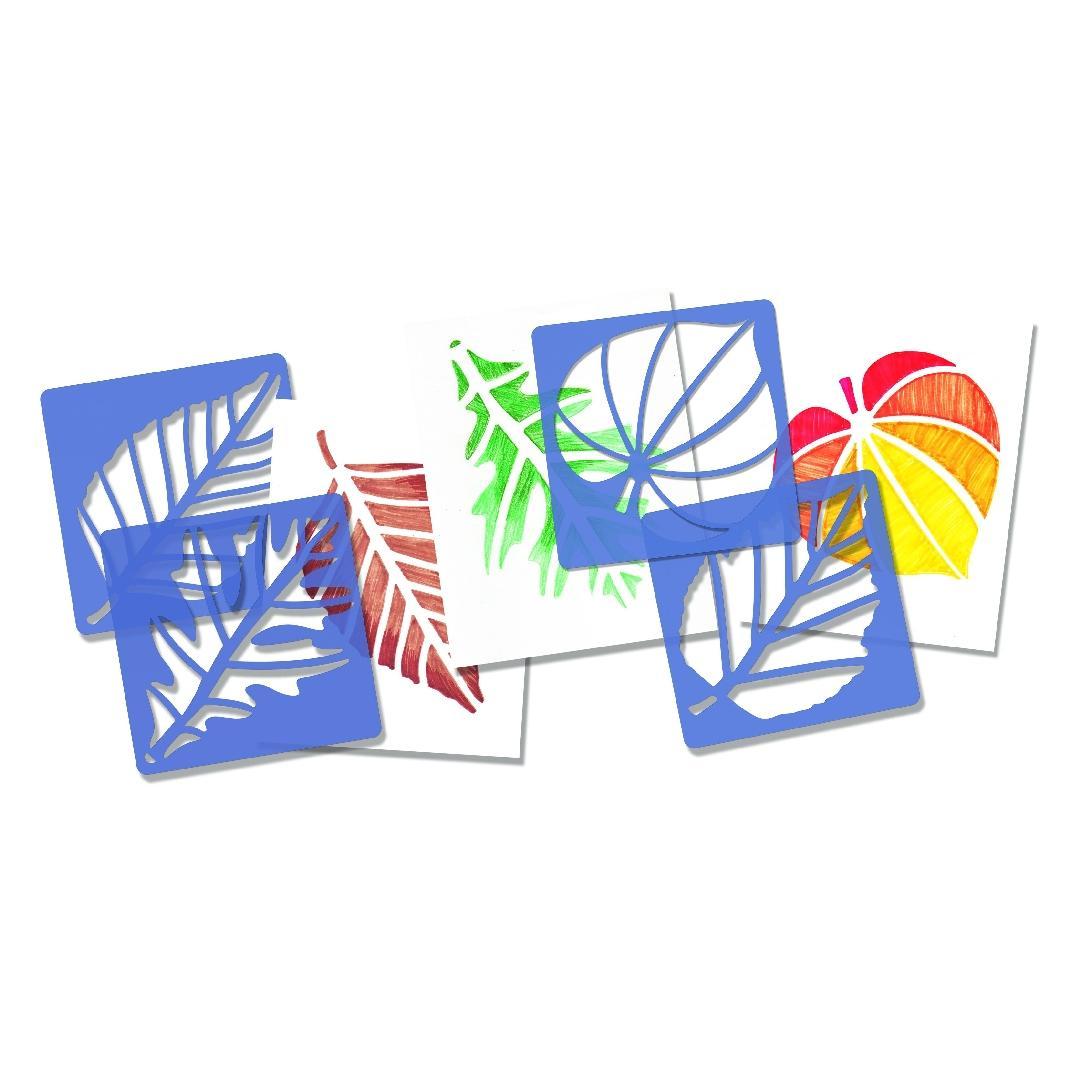 Leaf Stencils (12pcs)