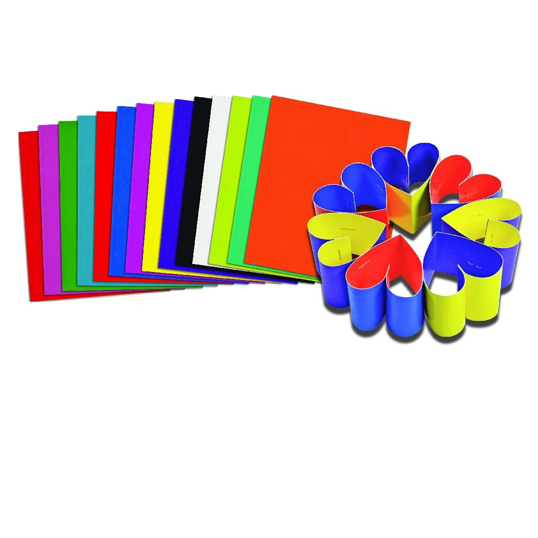 Double Colour Card (100pcs)