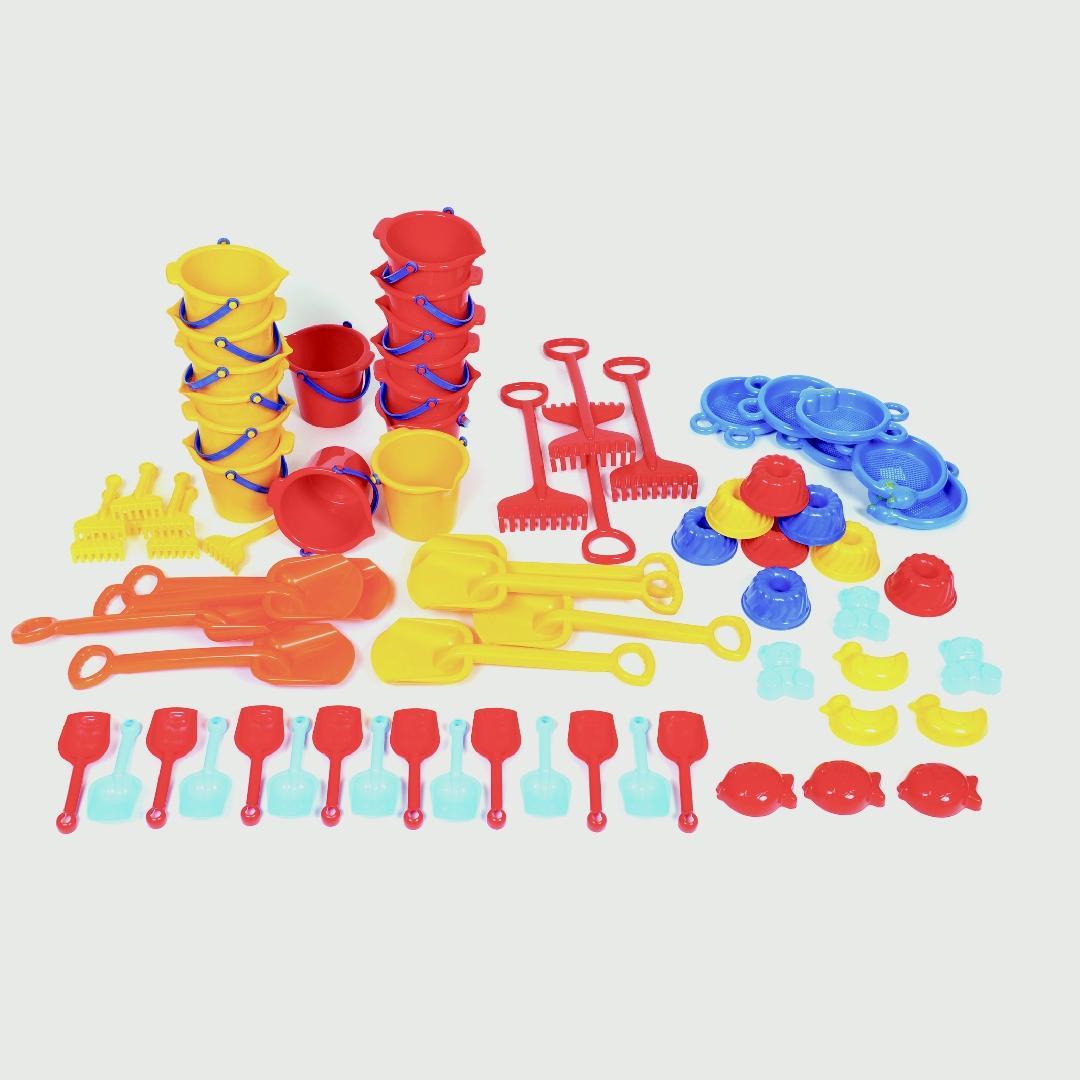 Jumbo Sand Set (72pcs)