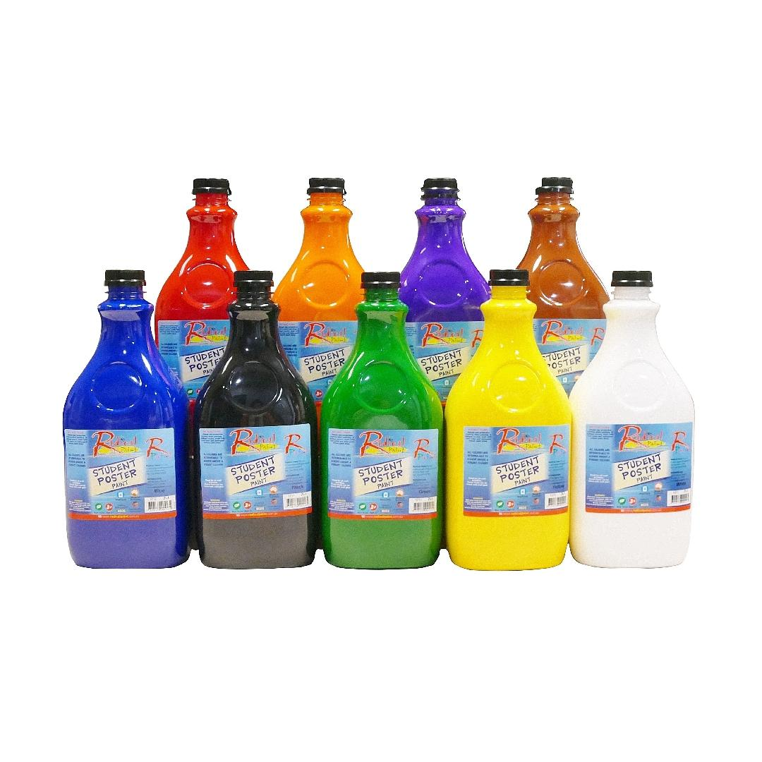 Tempera Poster Paint Blue (2L)