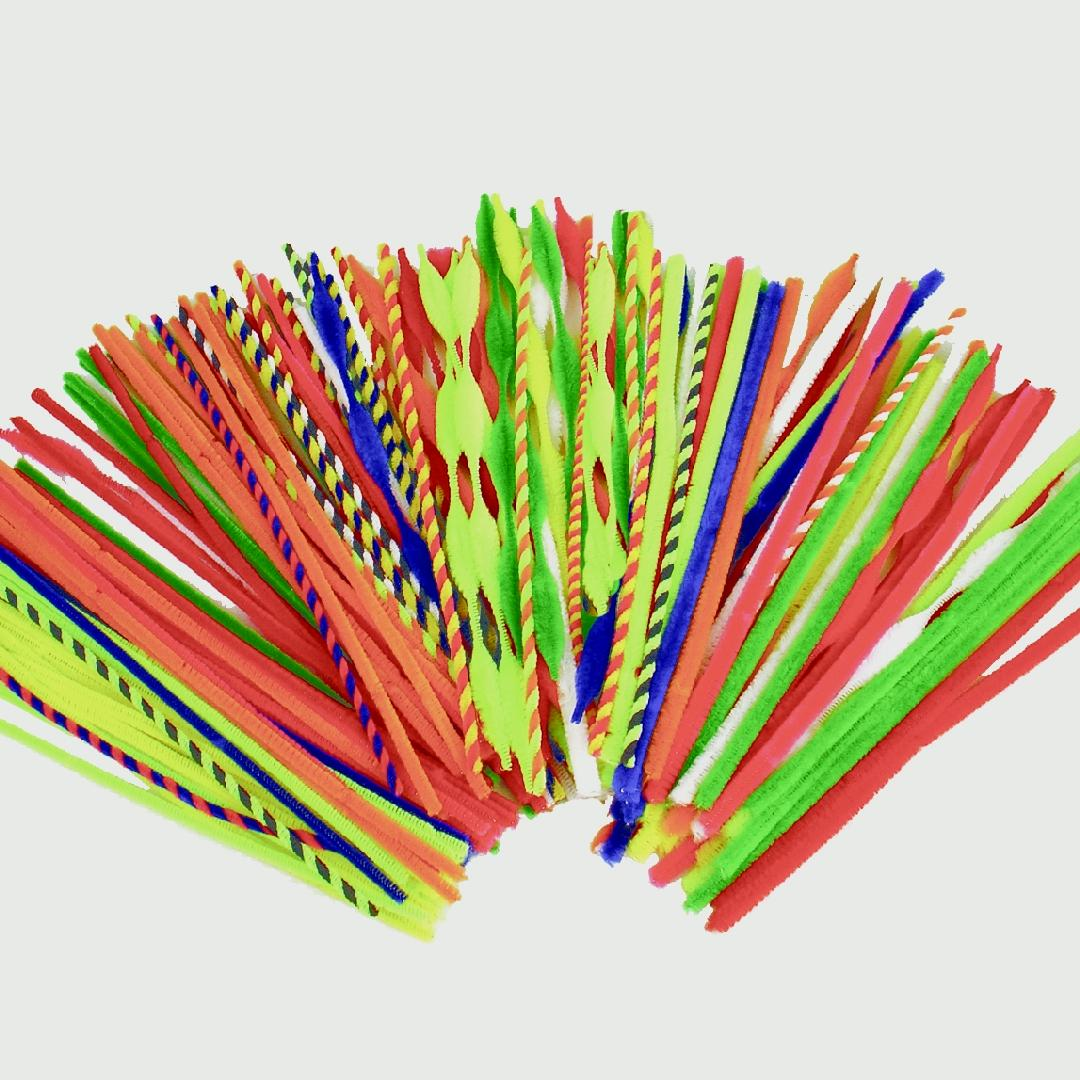 Giant Variety Pipe Cleaner Pack (200pcs)