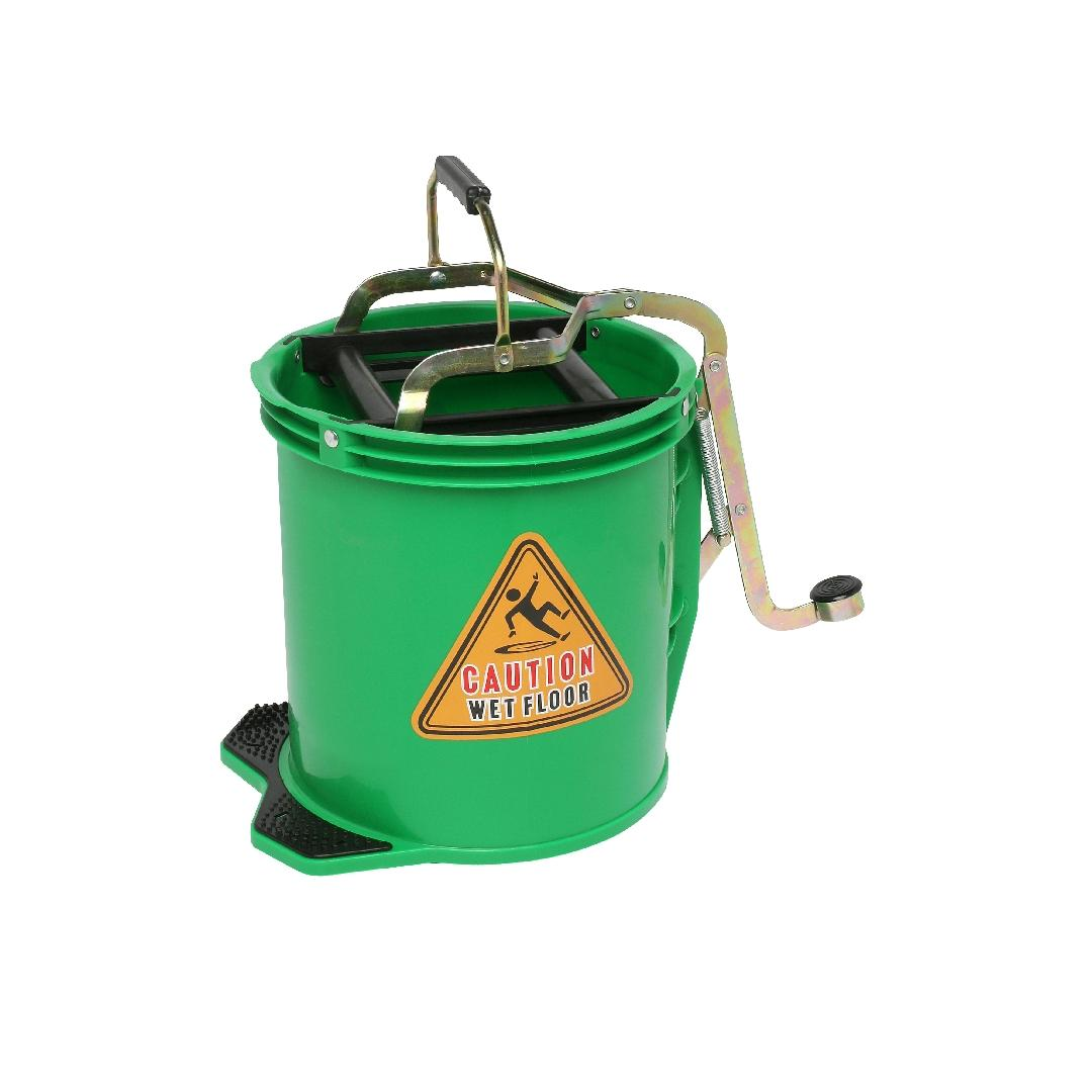 Heavy Duty Mop Wringer Bucket 16L Green