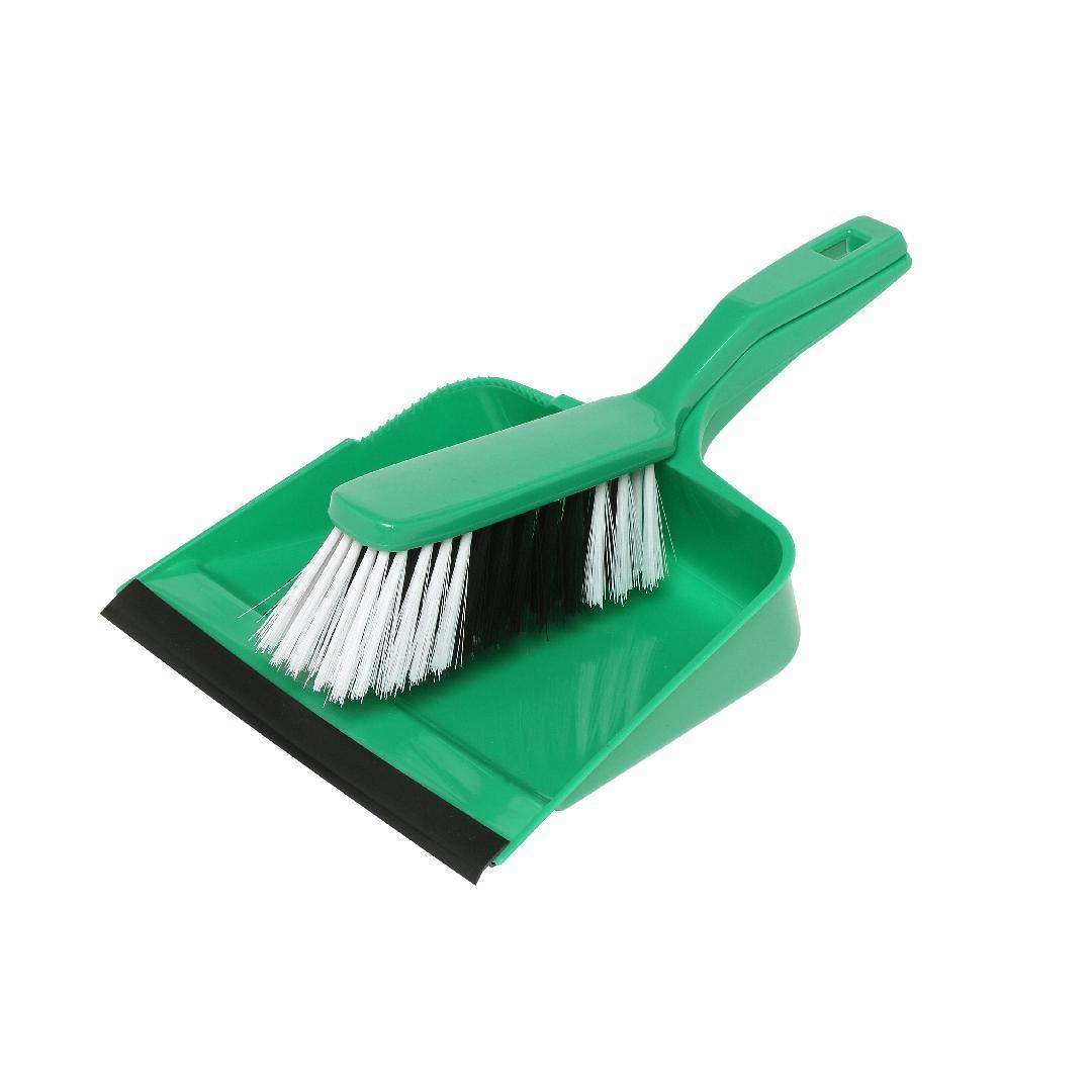 Dustpan & Brush Set Green