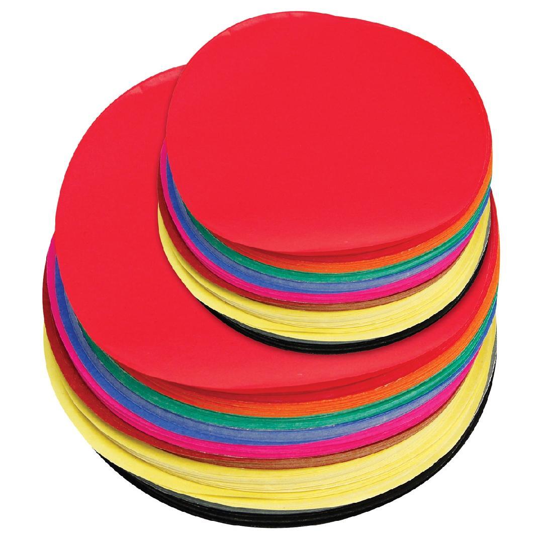 Assorted Paper Circles (500pcs)