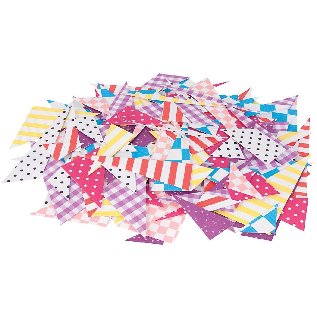 Cardboard Triangular Mosaics (2000pcs)