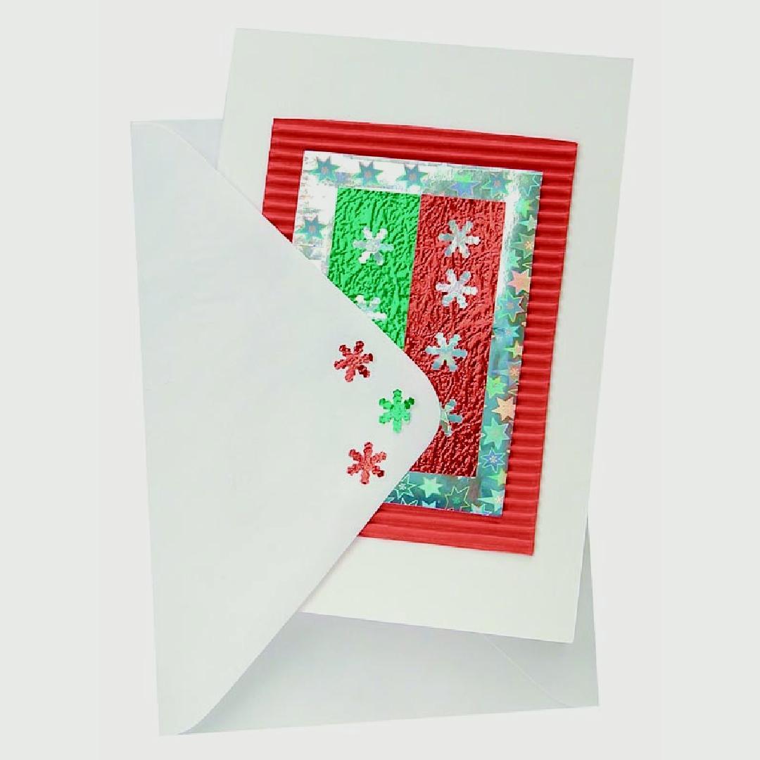 White Cards & Envelopes (Pack of 20)