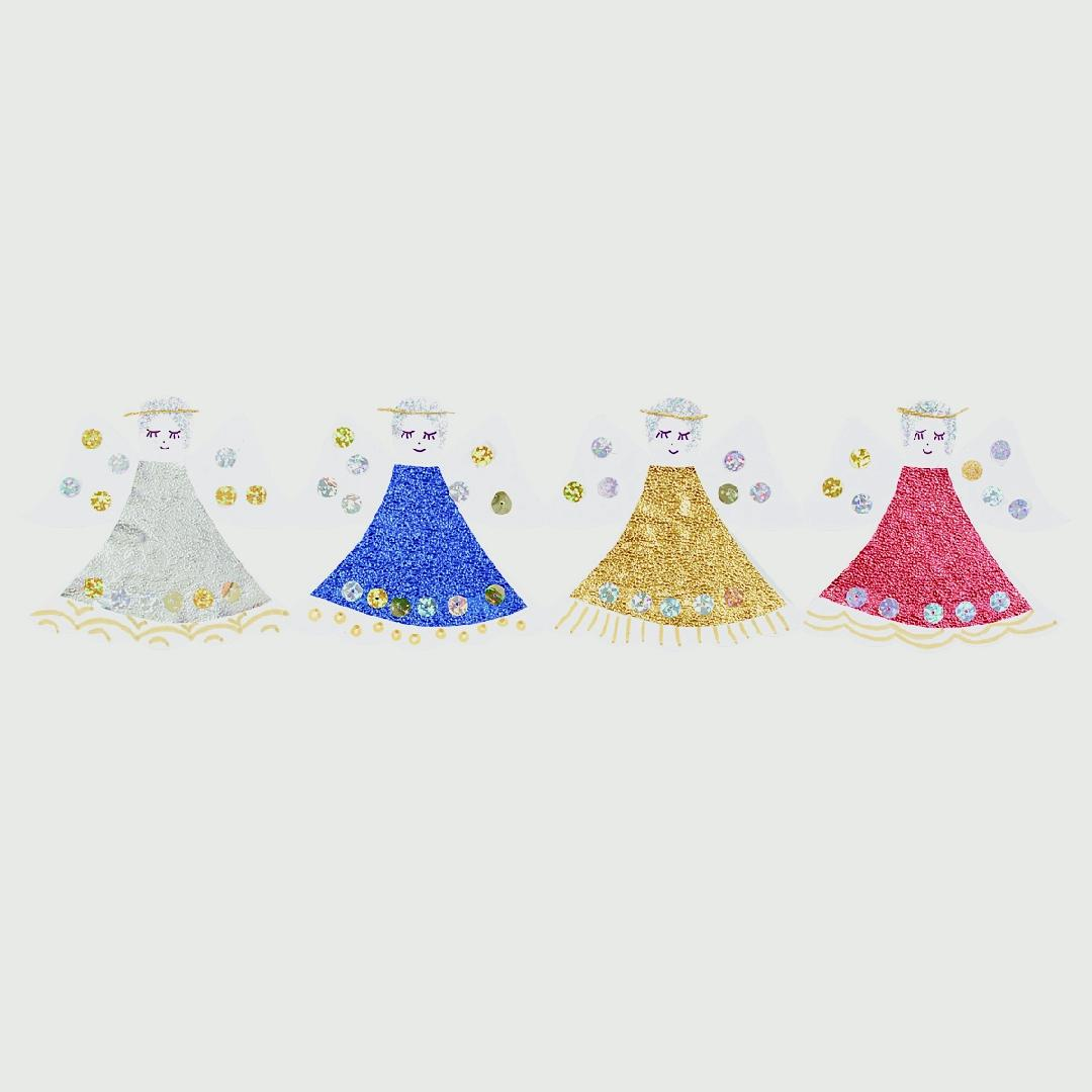 Cardboard Fold-Up Dolls (25pcs)