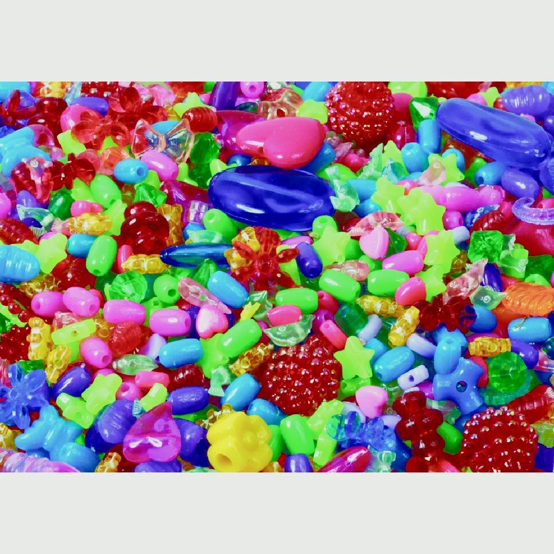 Craft Beads (250g)