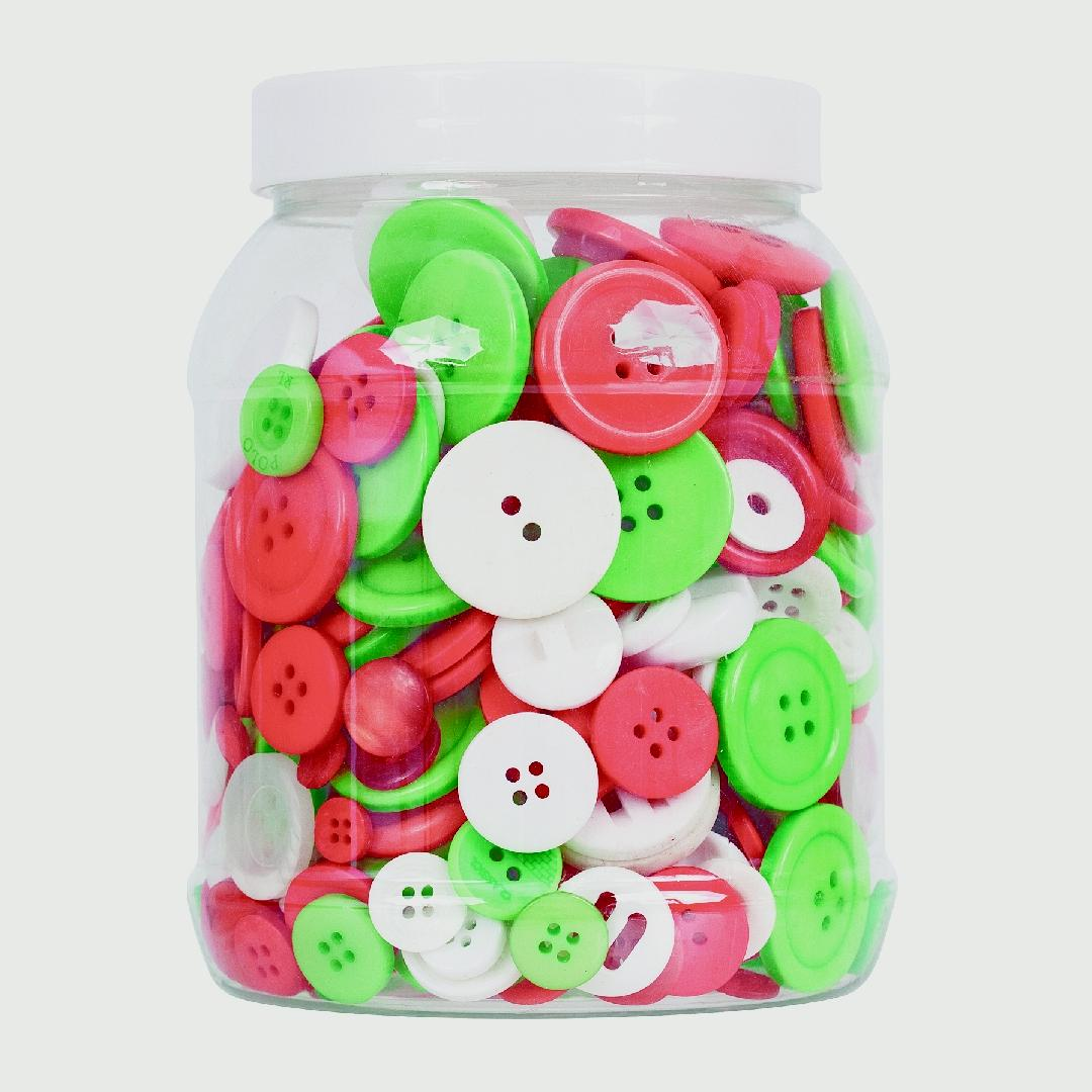 Christmas Buttons (600g)