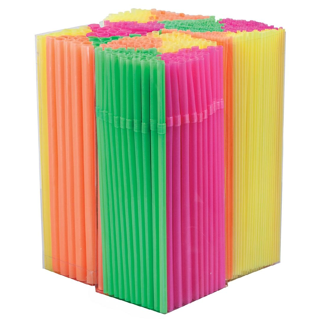 Assorted Straws (1100pcs)
