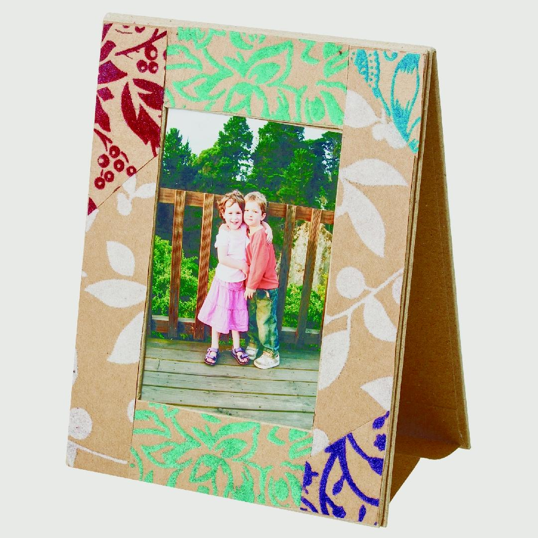 Papier Mache Photo Frames (5pcs)