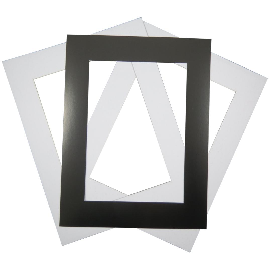 A4 Paper Frames Black & White (30pcs)