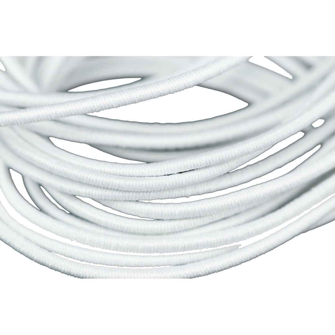 White Elastic 2mm (4m)