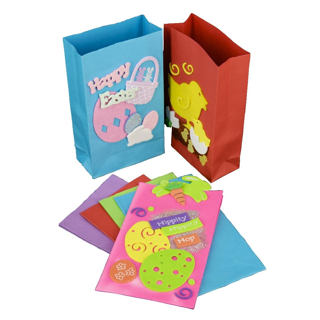 Coloured Paper Gift Bags (10pcs)