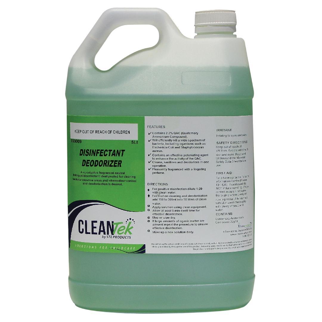 CleanTek Disinfectant Deodoriser (5L)