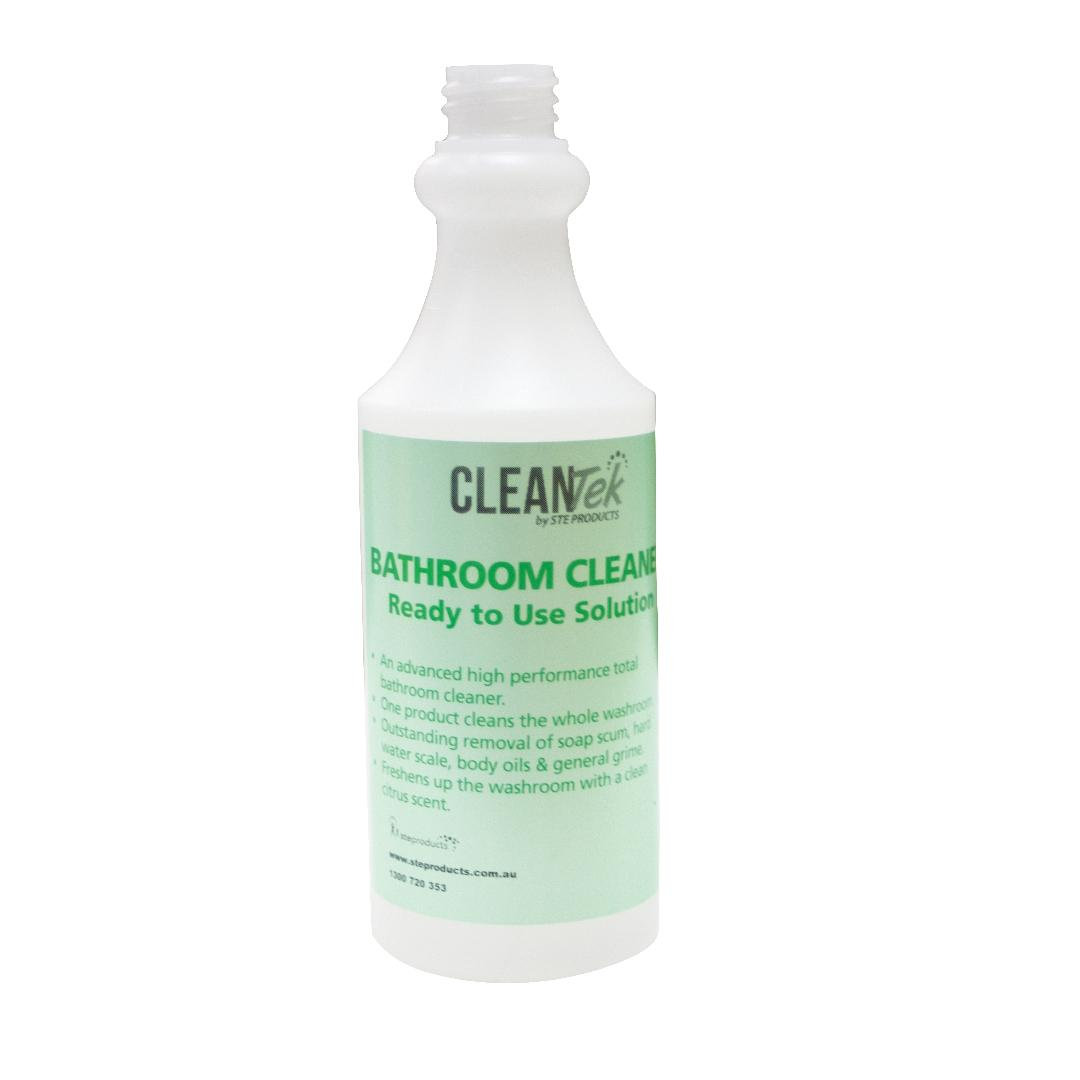 CleanTek Bathroom Cleaner Squeeze Bottle Only