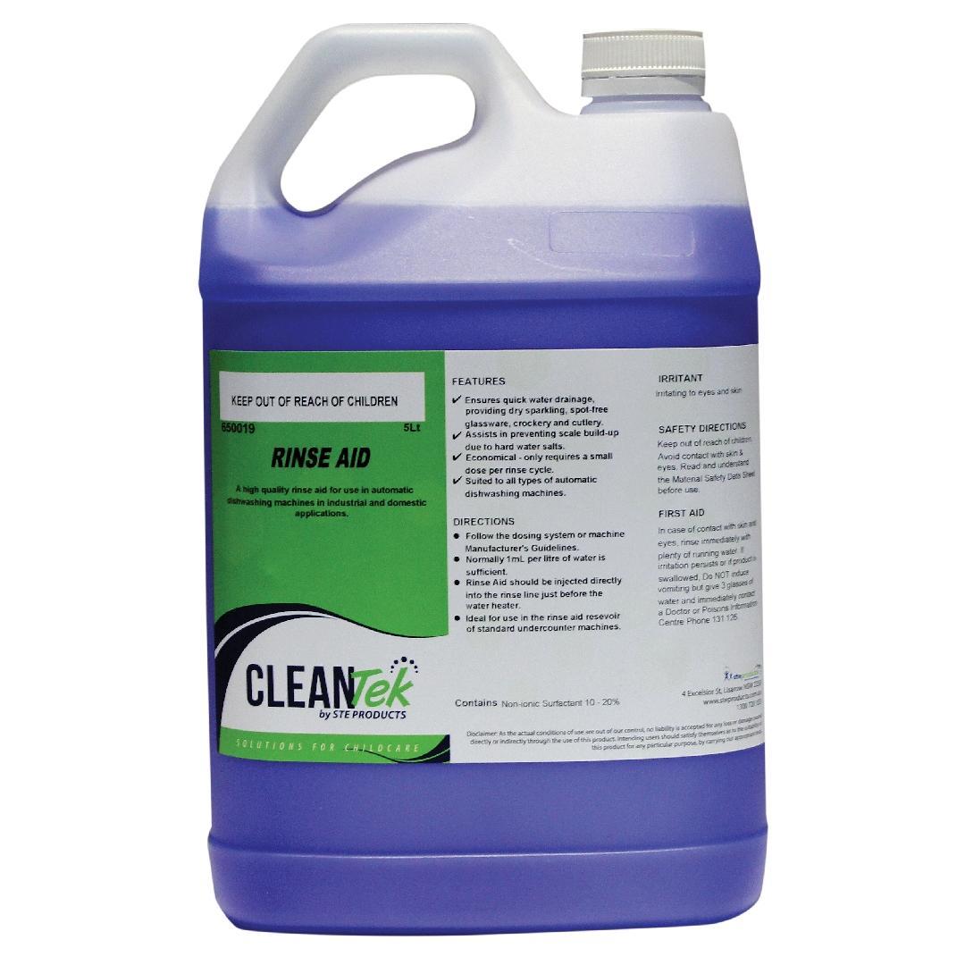 CleanTek Rinse Aid (5L)