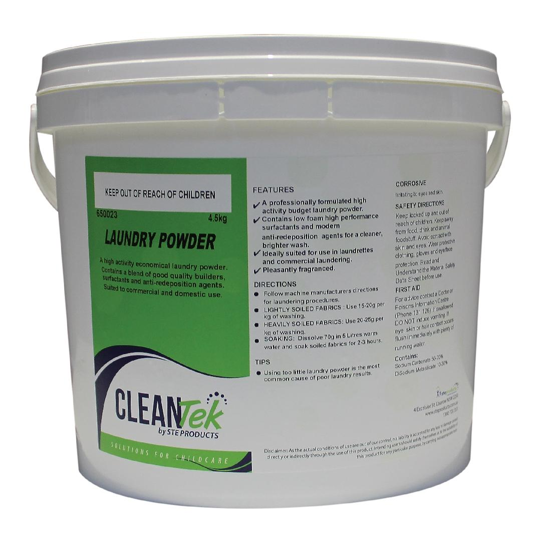 CleanTek Laundry Powder (20kg Tub)