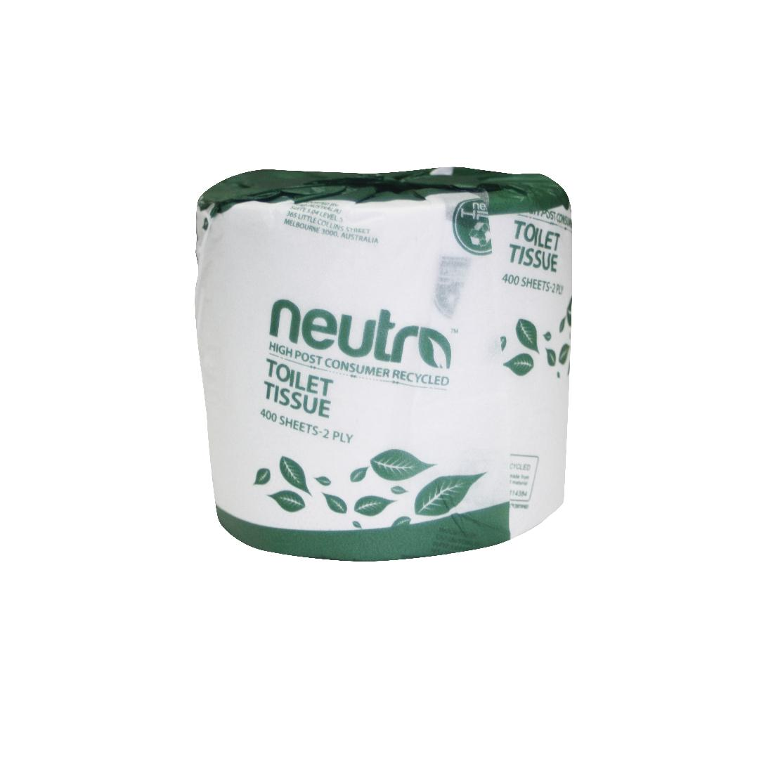 Eco Recycled Toilet Tissue (48 Rolls)