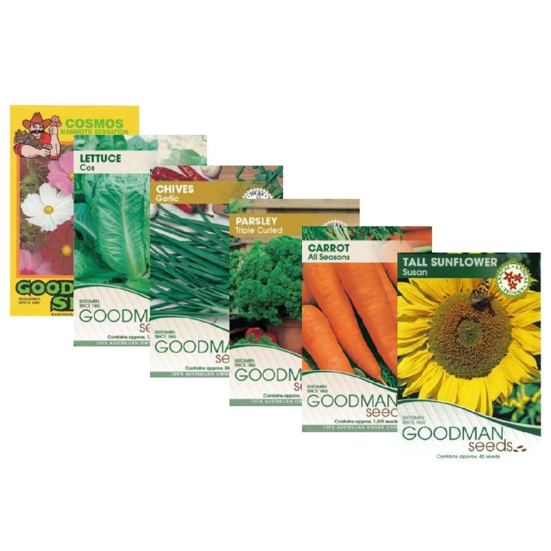 Seed Pack of 6