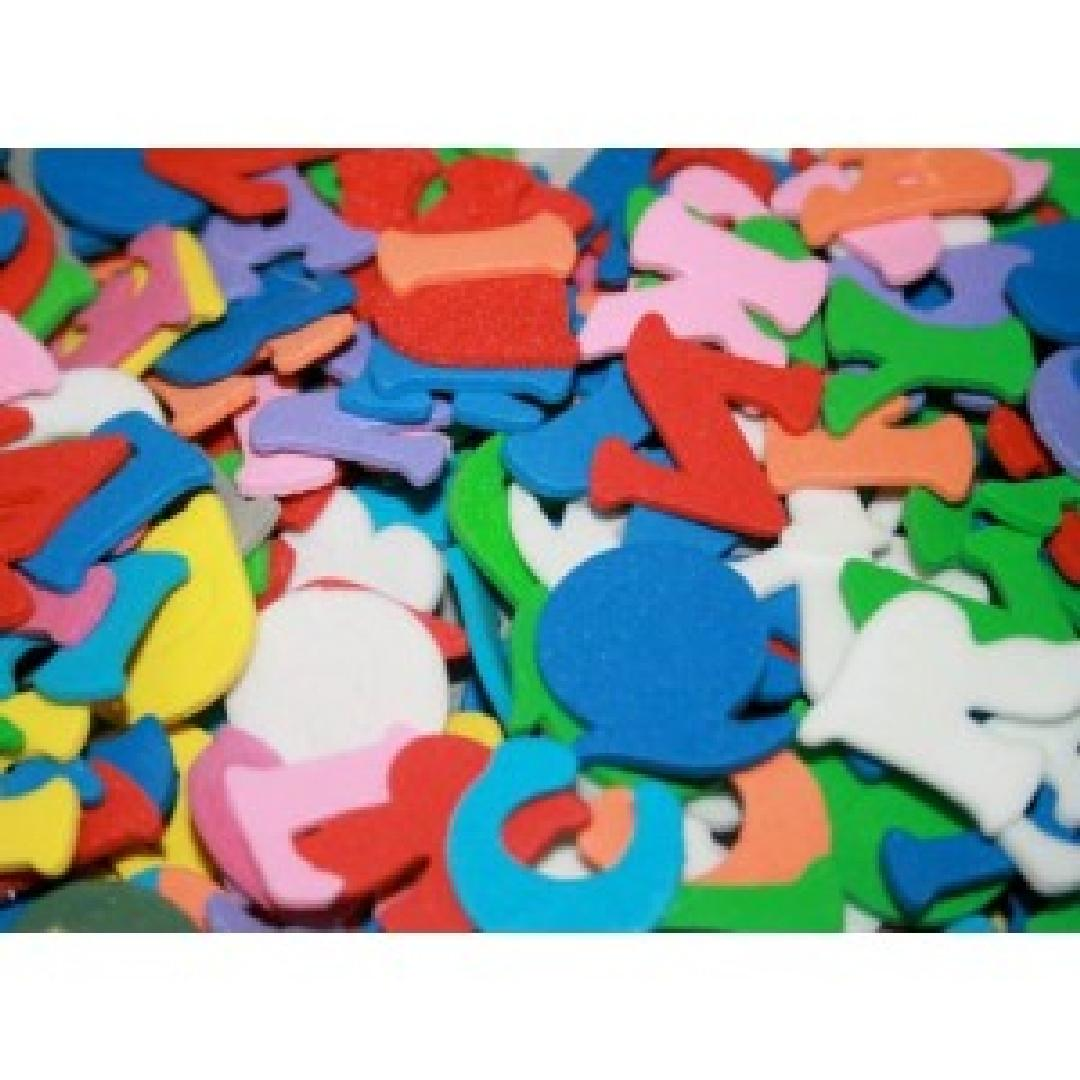 Alphabet Foam Shapes (300pcs)