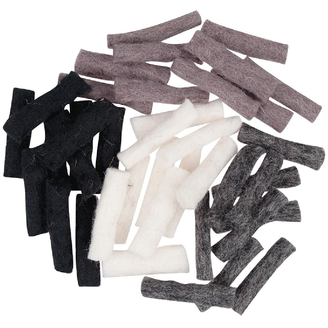 Nepalese Felt Sticks - Winter (40pcs)