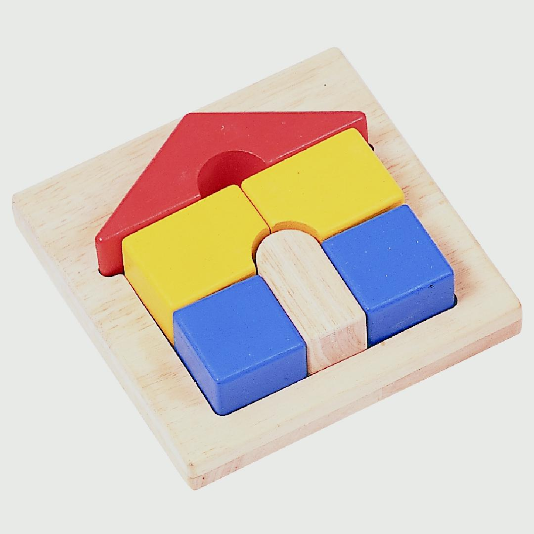 Mini House Tray Puzzle