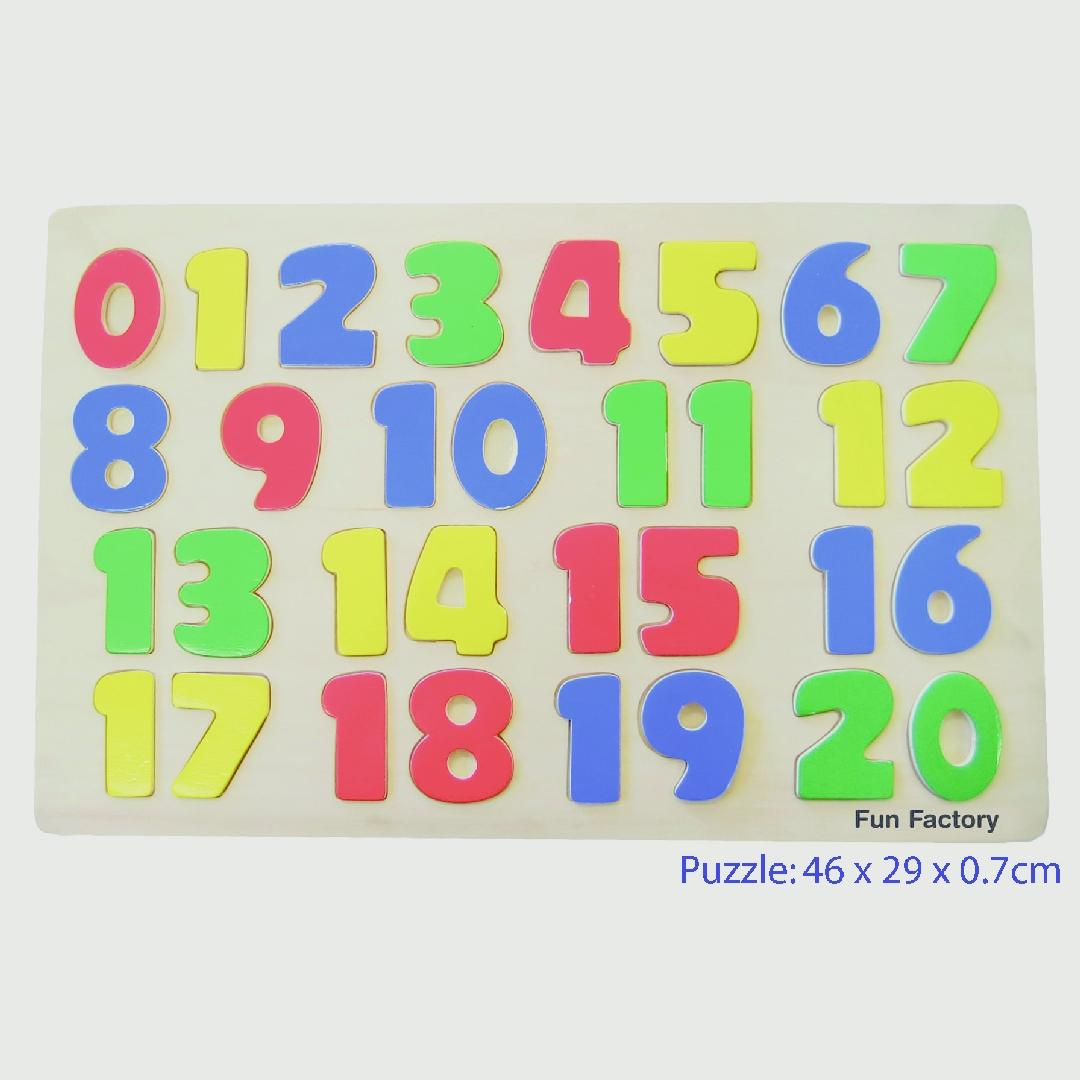 0-20 Number Puzzle