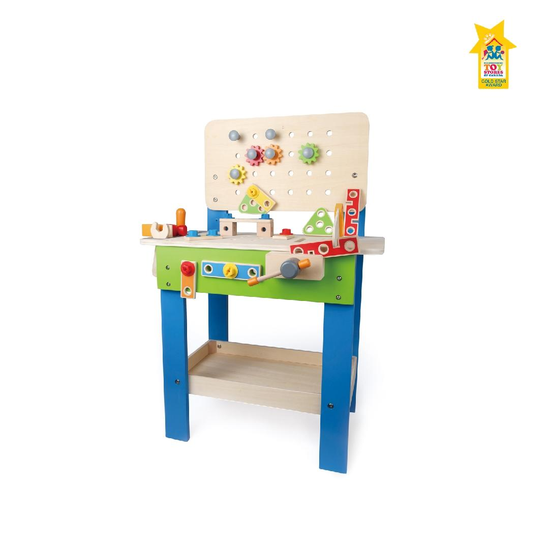 Hape My Giant Work Bench (27pcs)