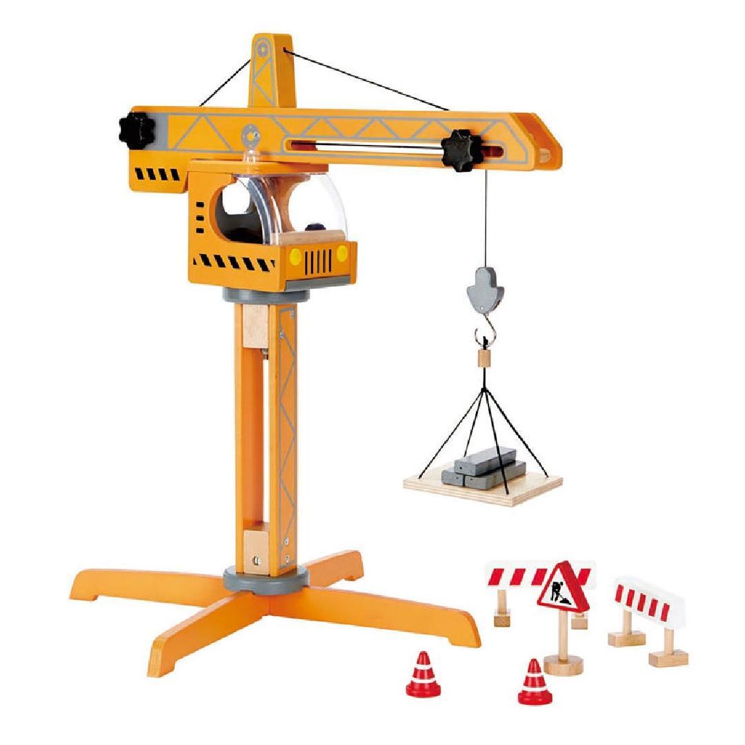 Hape Crane Lift (10pcs)