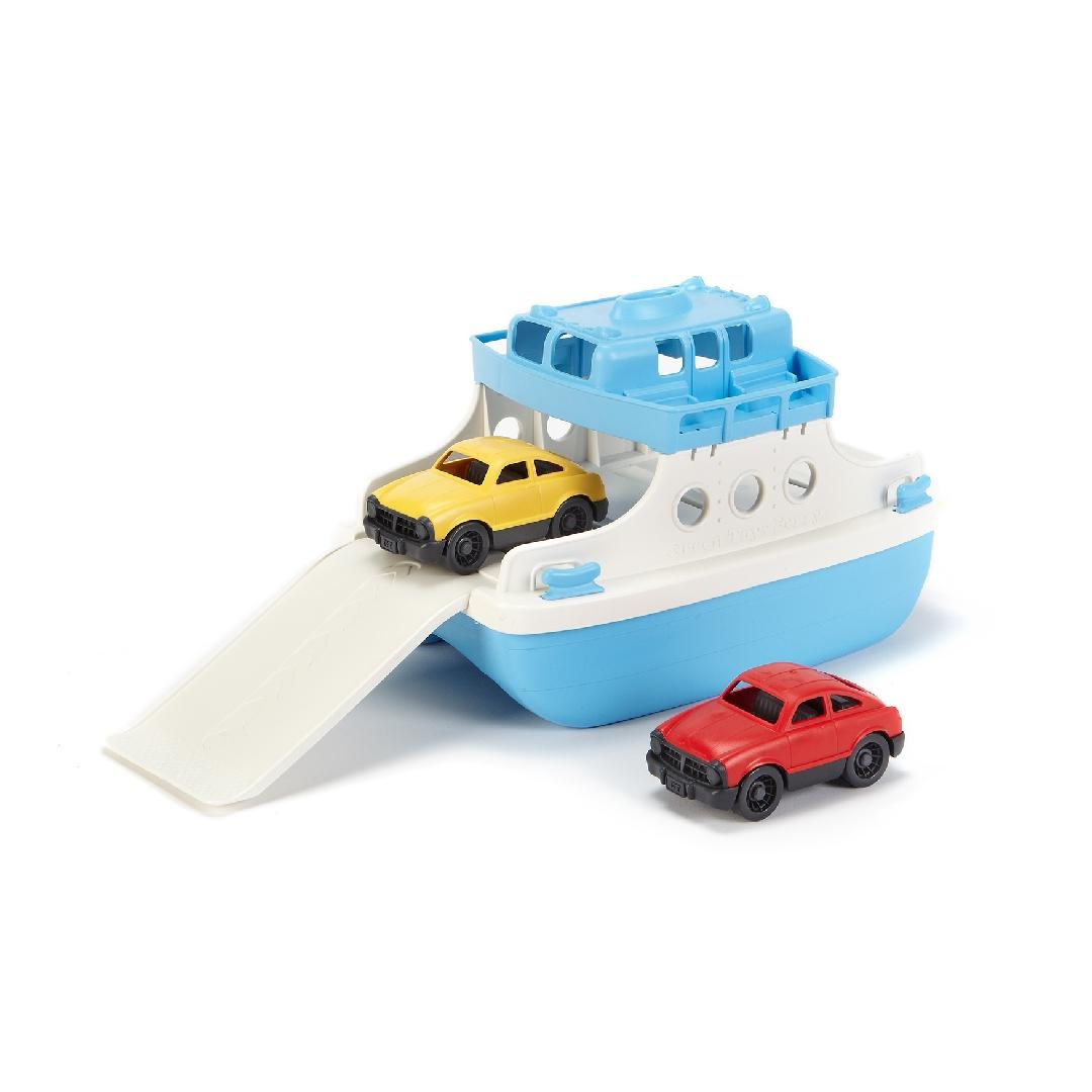 Green Toys Ferry & Cars