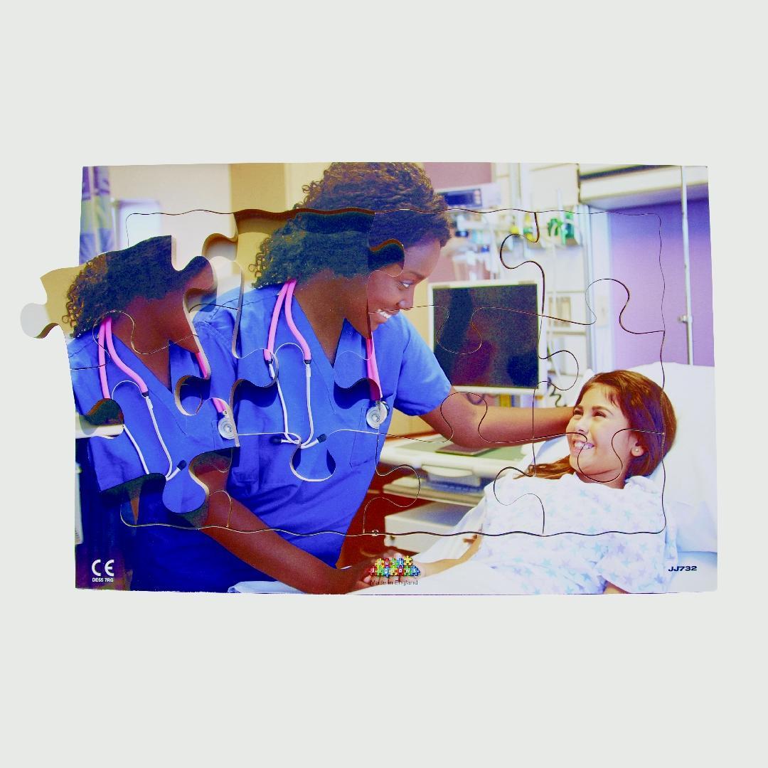 Nurse Tray Puzzle (12pcs)
