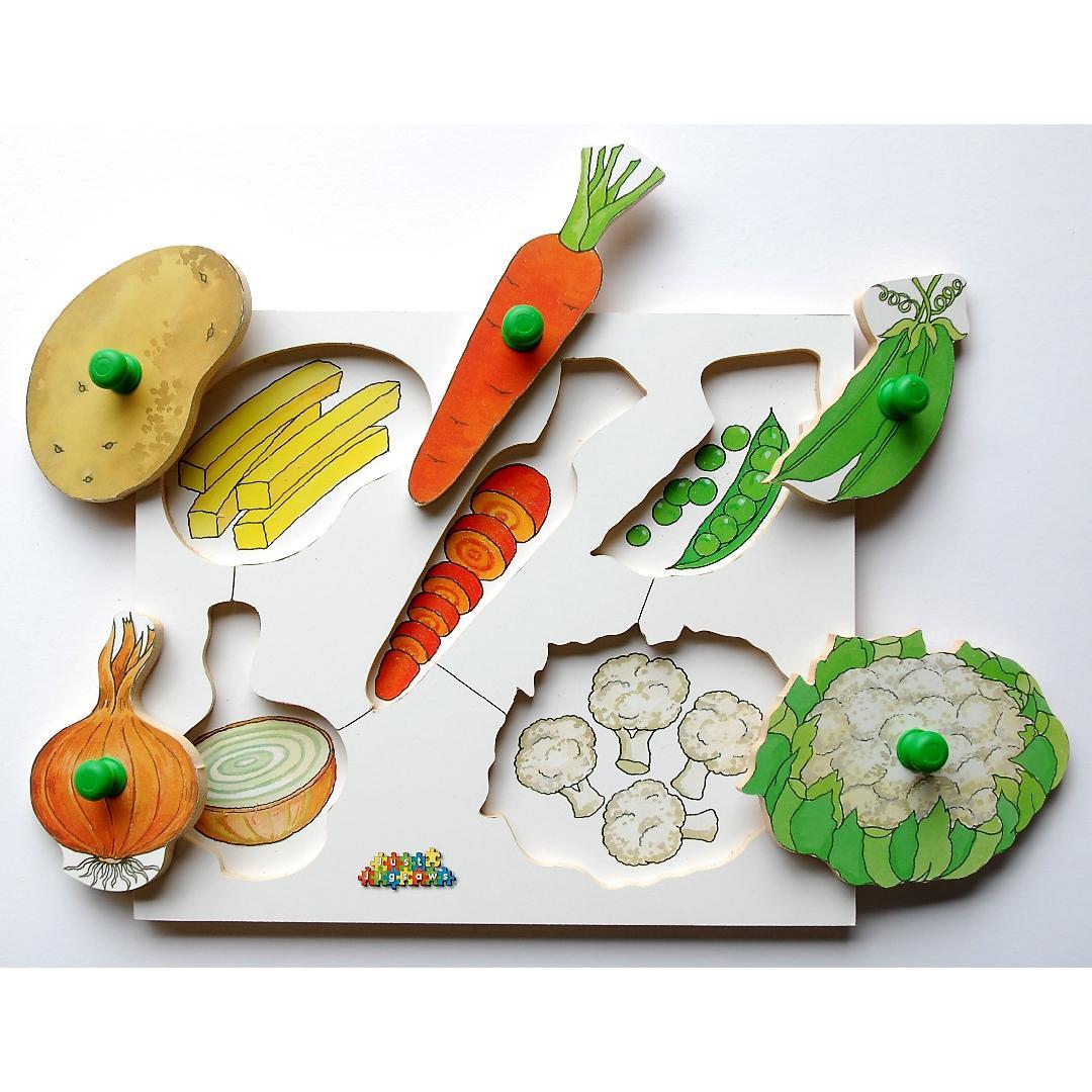 Vegetables Peg Puzzle