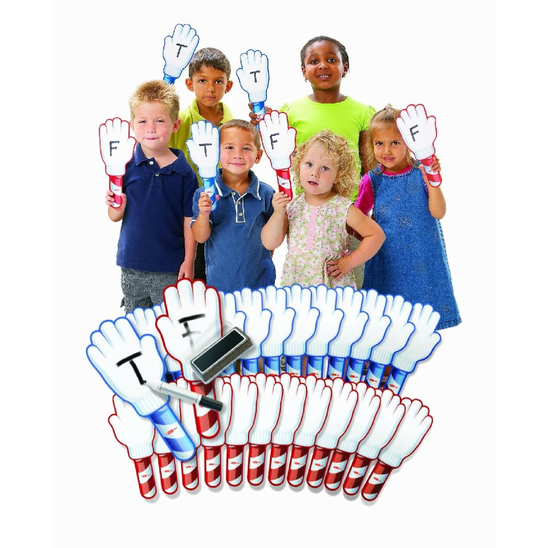 Hands Up Dry Erase Answer Boards (24pcs)
