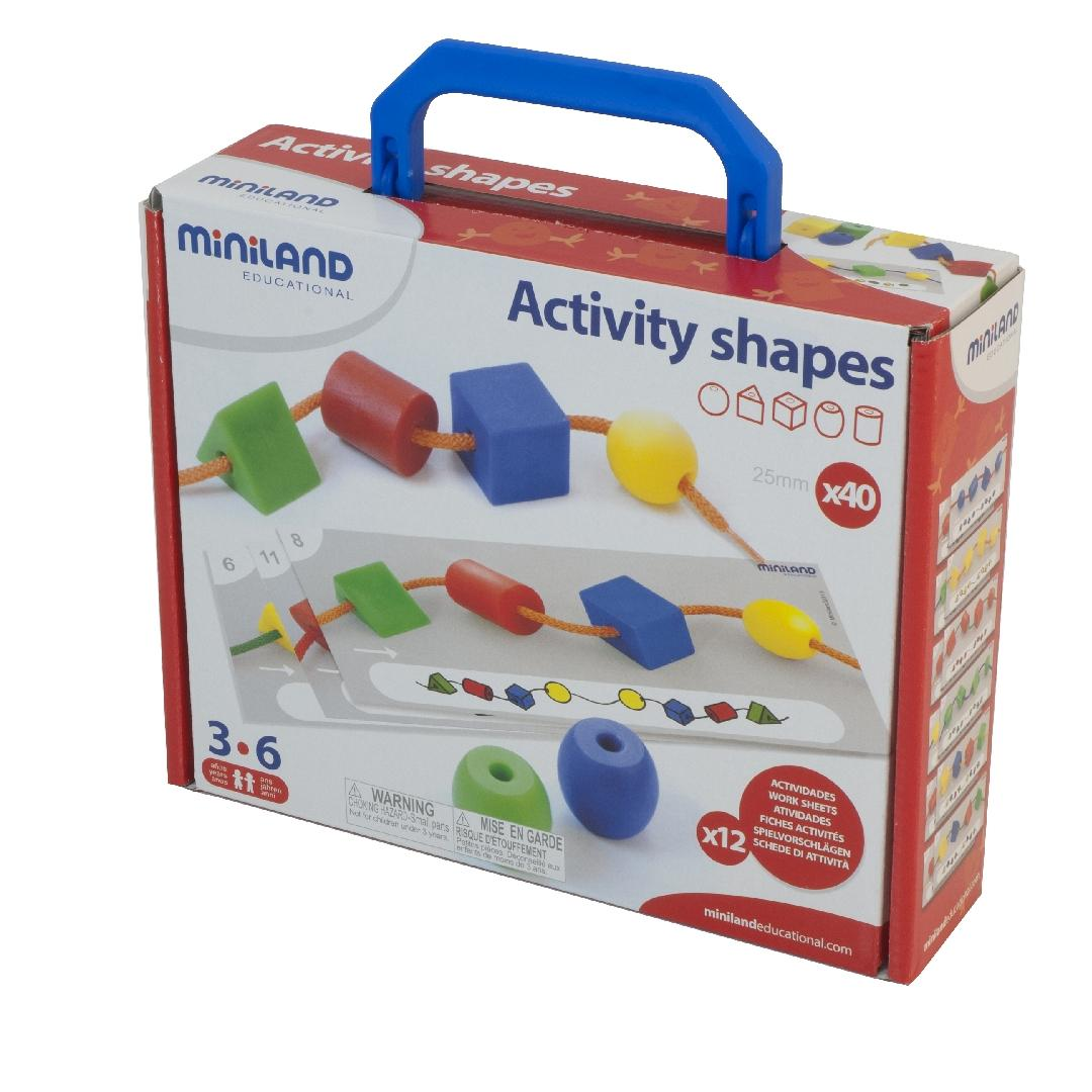 Activity Shapes (57pcs)