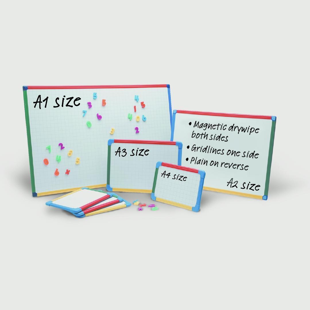 Show Me A1 Magnetic Framed Board