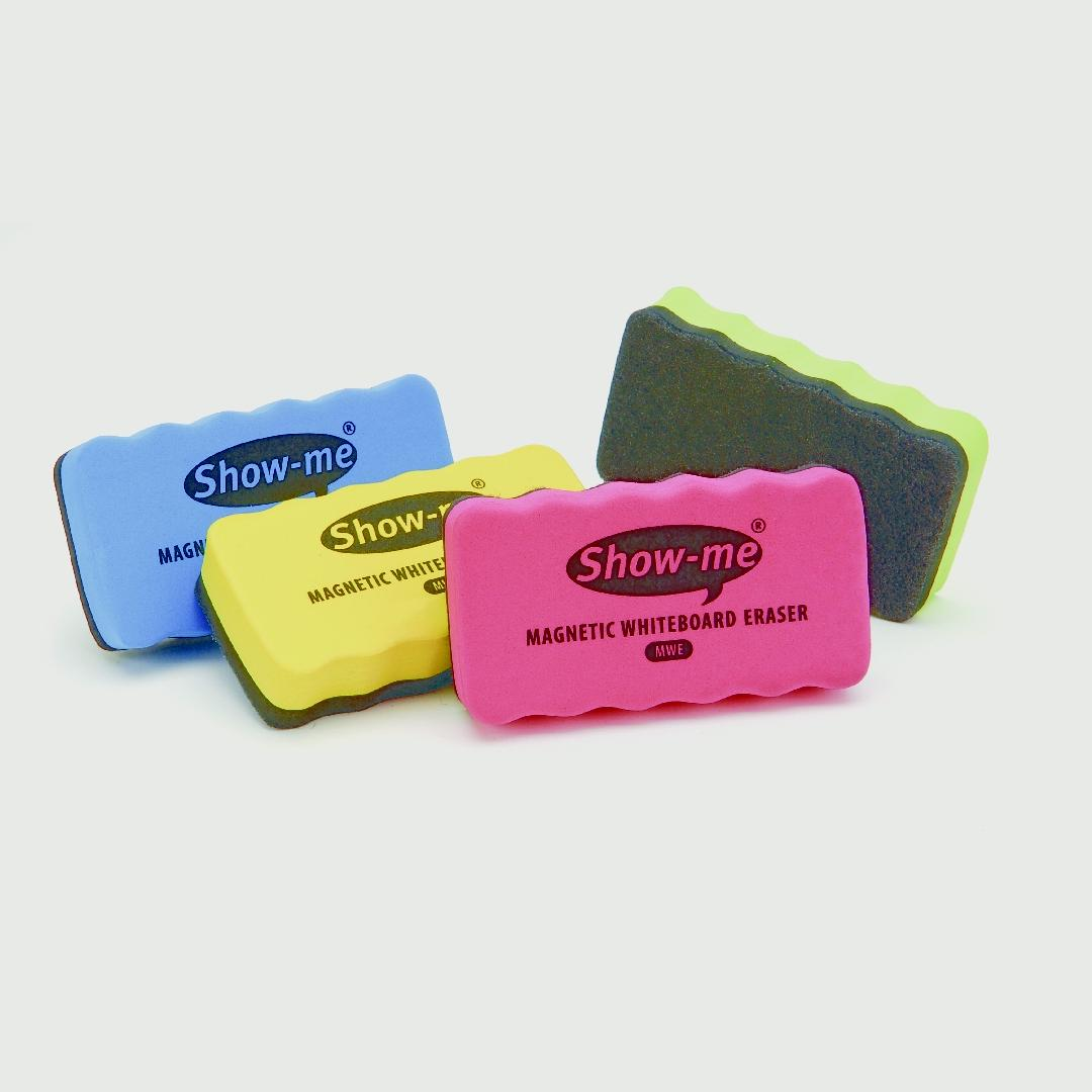 Show Me Magnetic Whiteboard Erasers (4pcs)
