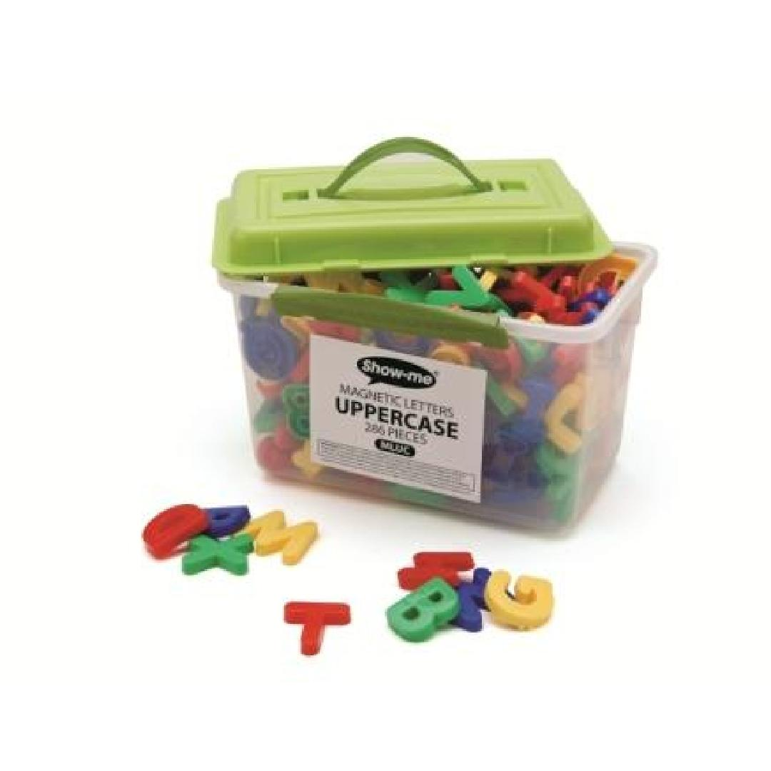 Magnetic Uppercase Letters (286pcs)