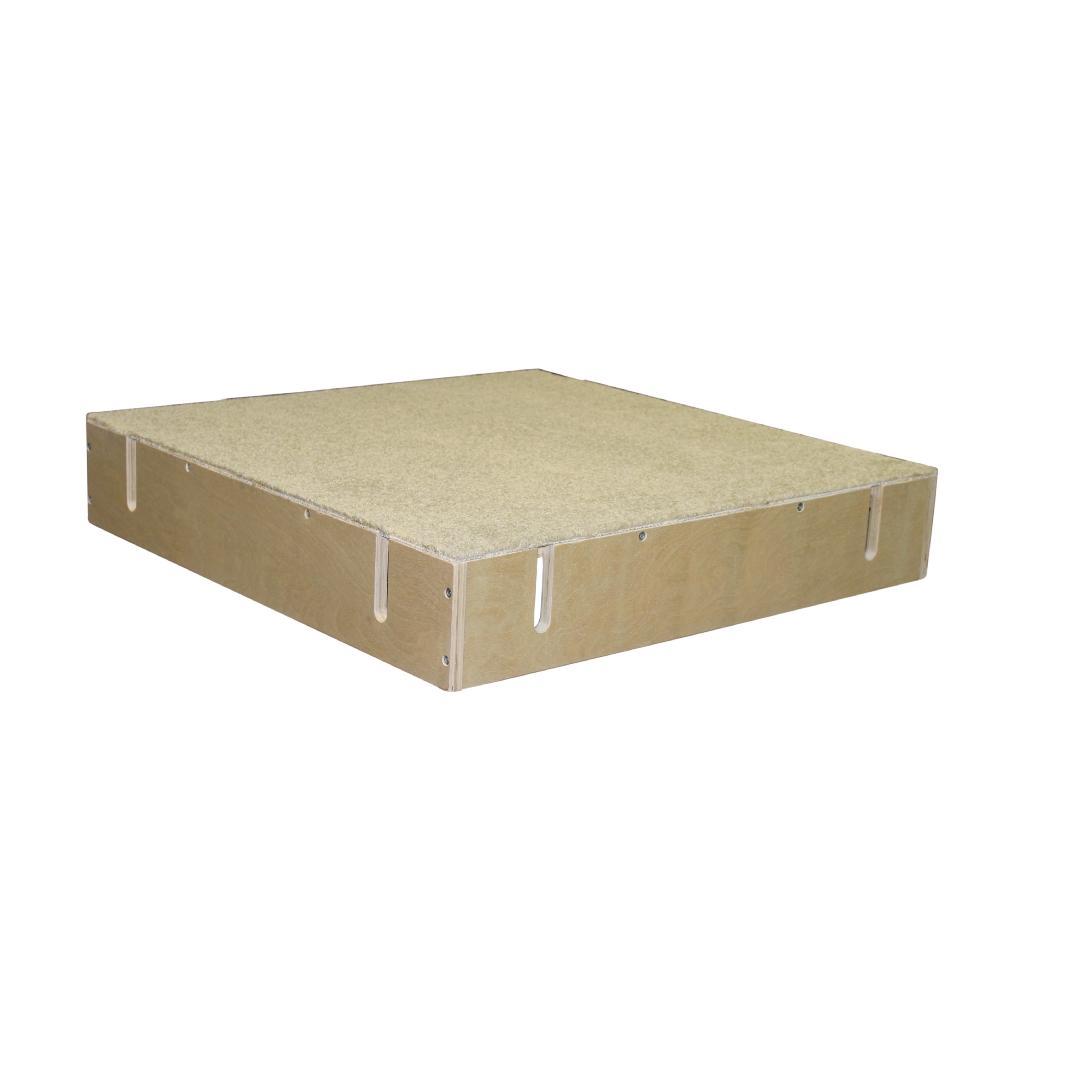 Birchwood Platform with Carpet