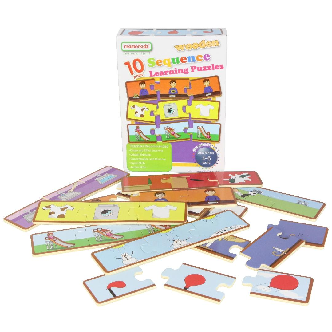 Sequence Building Puzzles (Set of 10)