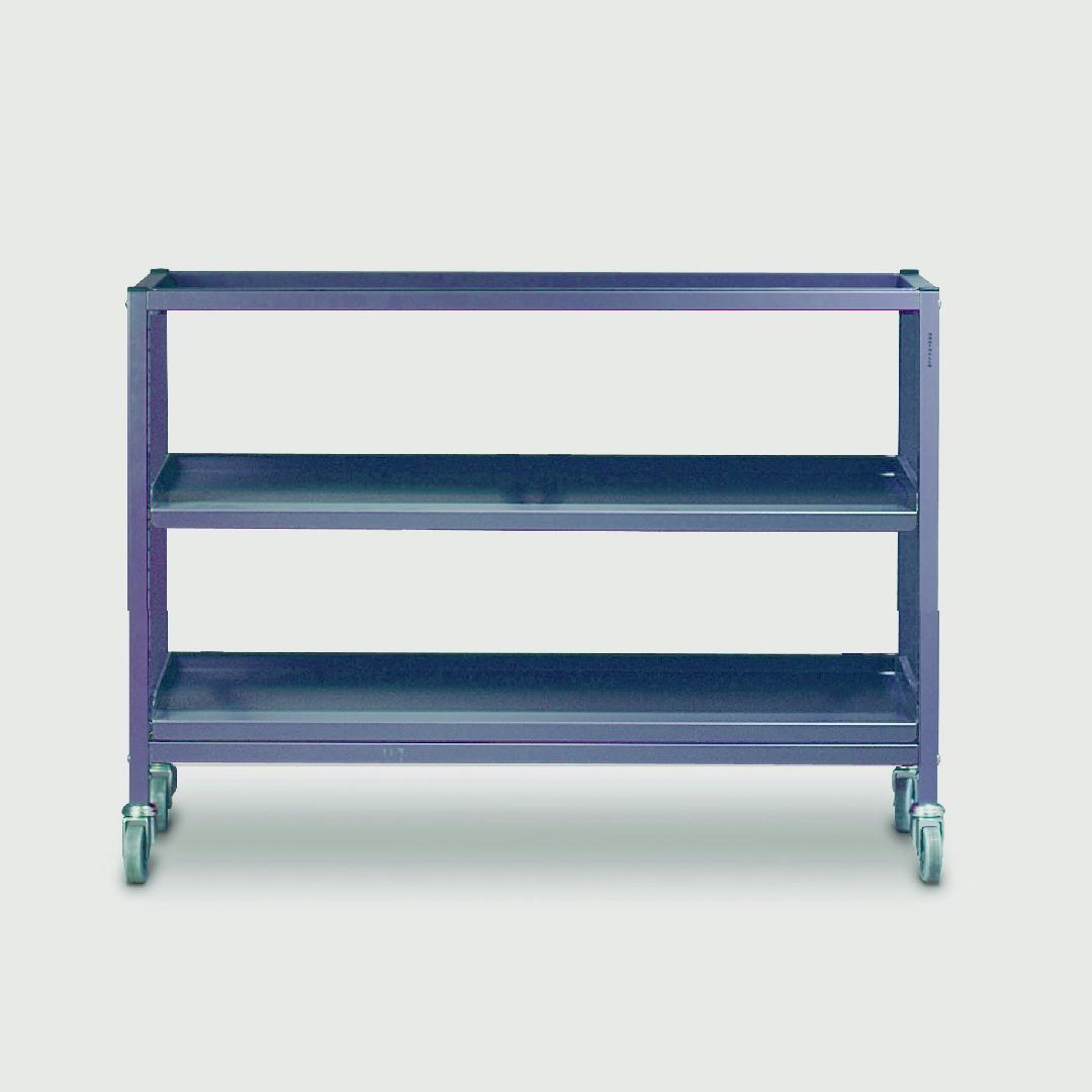 Large Item Trolley Double Width 725mmH