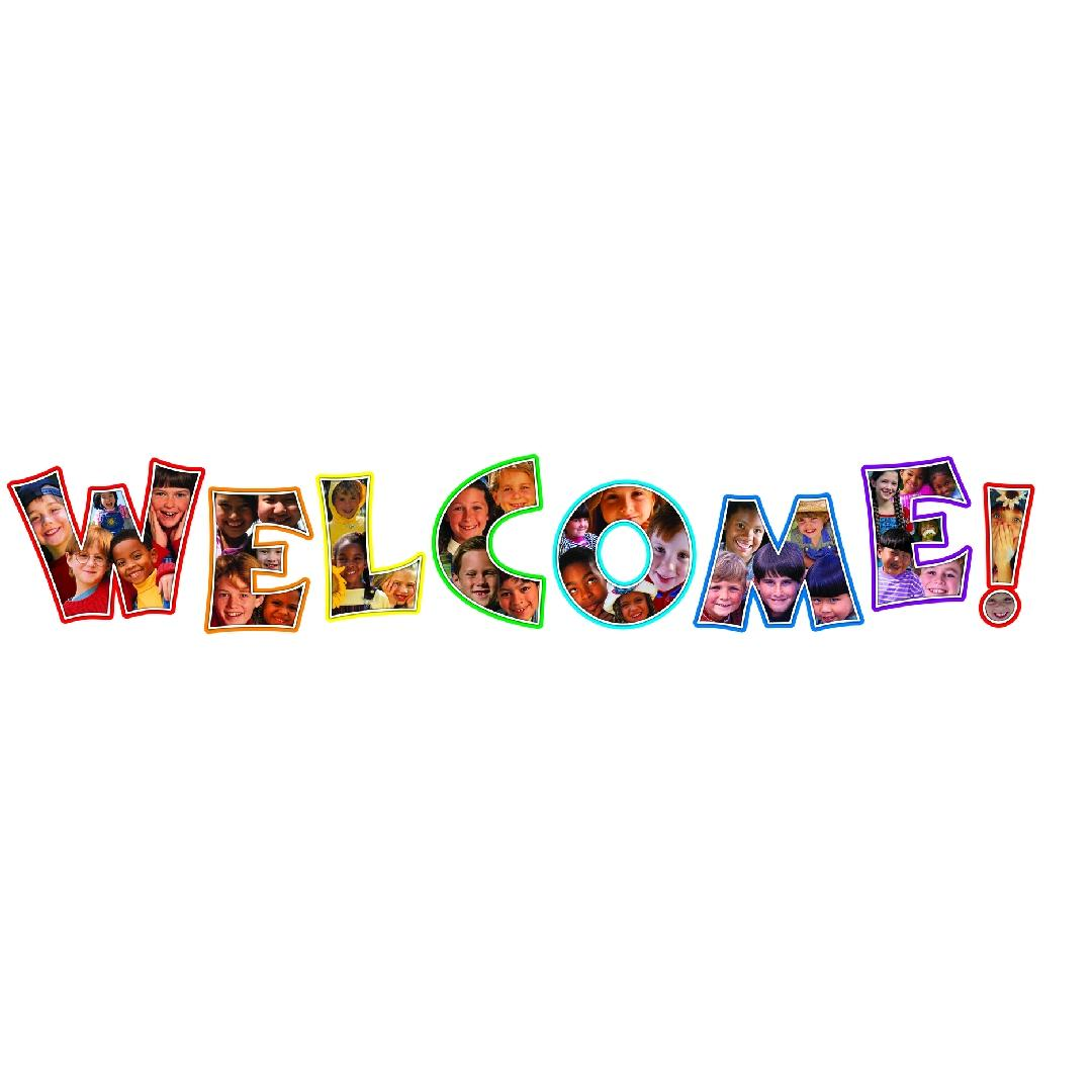 Welcome! Photographic Banner (8pcs)