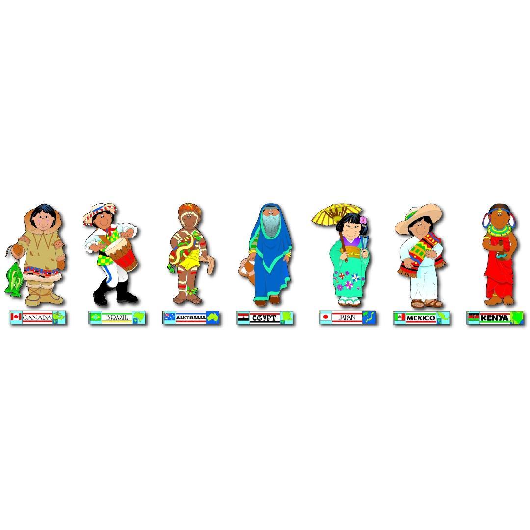 International Kid Bulletin Boards (24pcs)