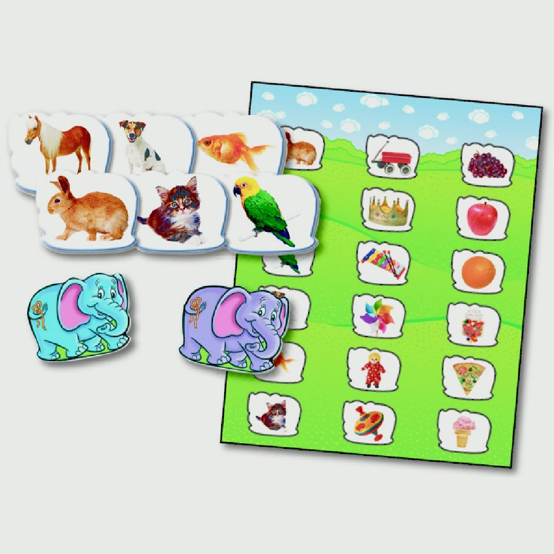 Elephants Never Forget Memory Game (38pcs)