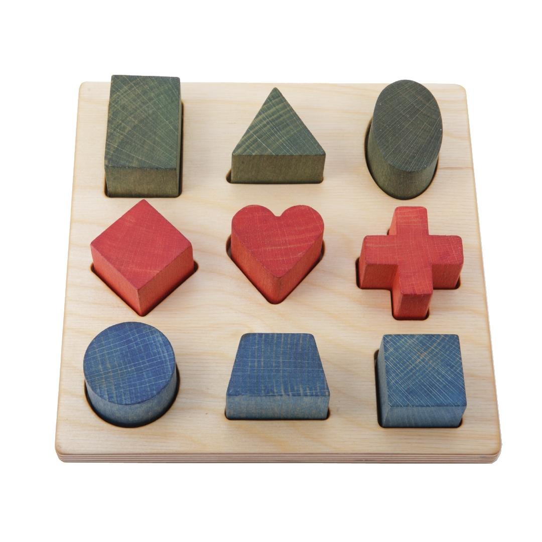 Wooden Story Shape Puzzle