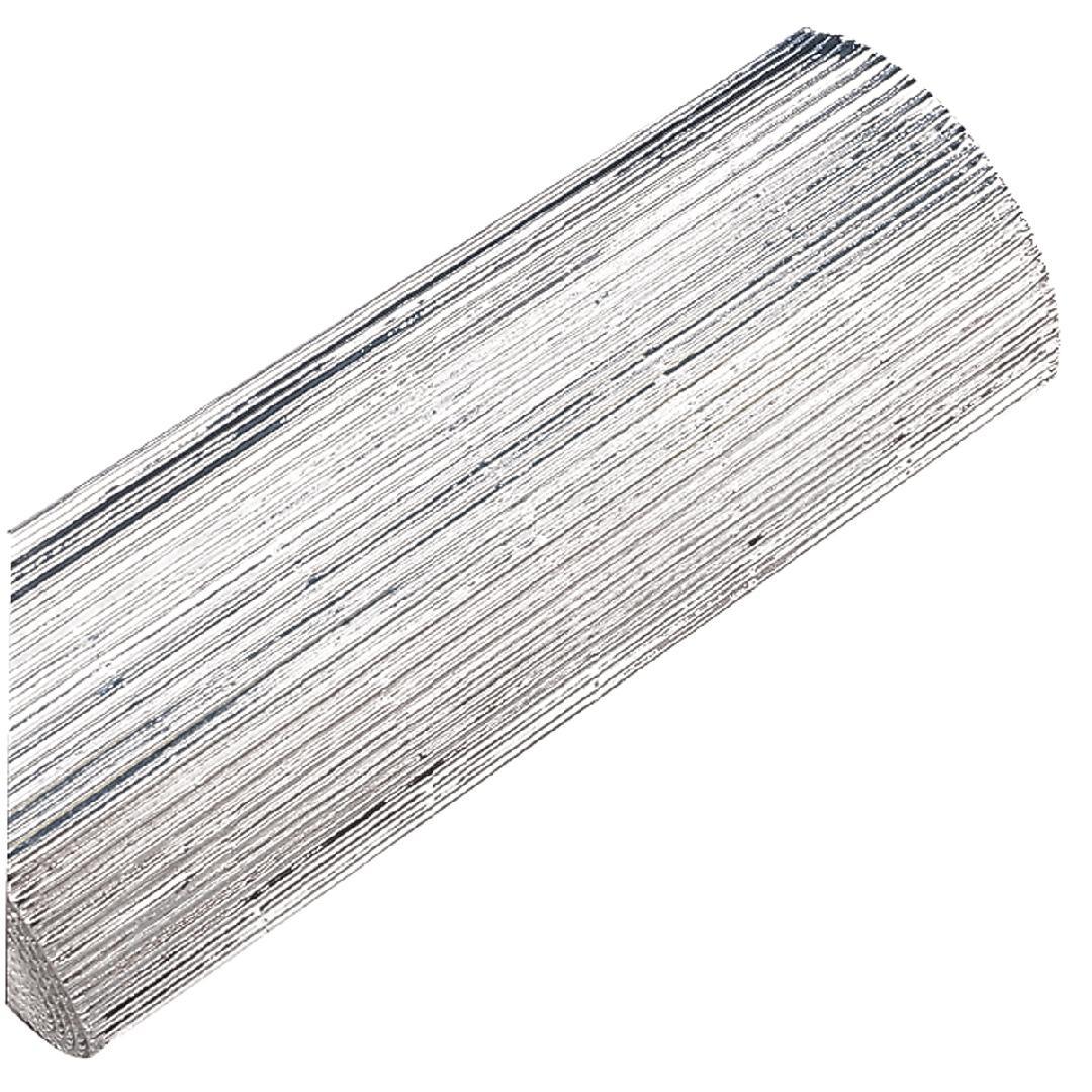 Silver Ripple Card Roll