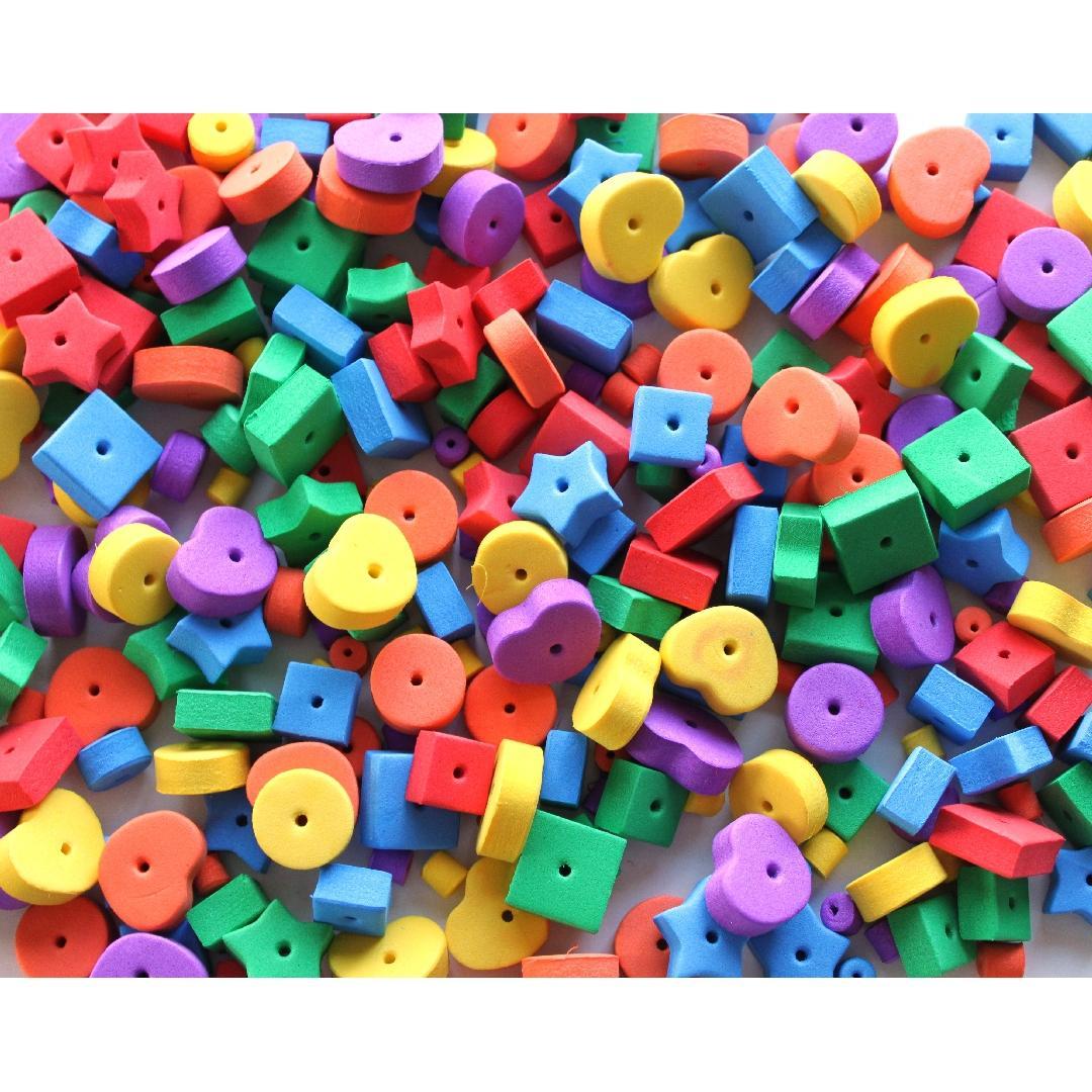 Assorted Foam Beads (300pcs)